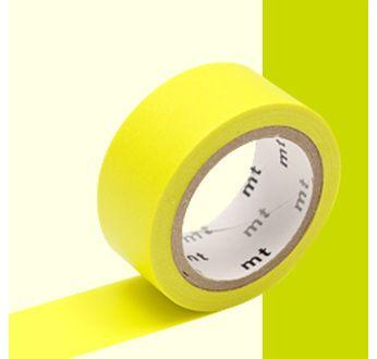 MT EXTRA-FLUO luminescent jaune / yellow - 1,5cm x 5m