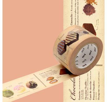 MT EX Motif recette chocolat - 3cm x 10m