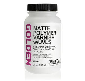 Polymer Varnish/UV(Matte) 236 ml