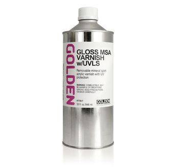 MSA Varnish/UV (Gloss) GOLDEN 946 ml