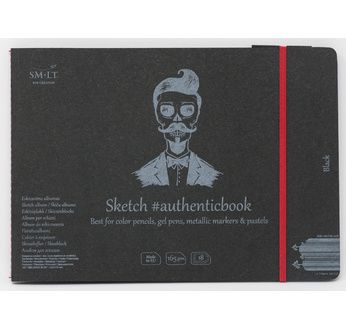 Stitched album Black #Authenticbook