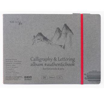 Calligraphy & Lettering album #Authenticbook