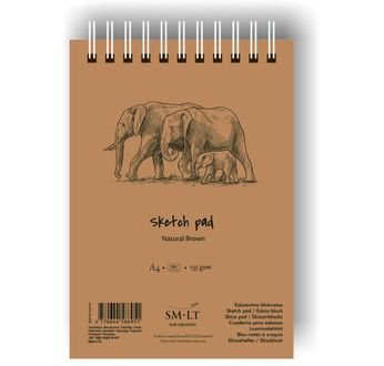 Sketch pads #Authentic Brown
