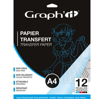 GRAPH'IT 12 Transfer Papers 12 A4