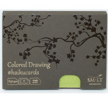 SM-LT Cartes Haïku - Mix Coloré - 11 feuilles-630gsm