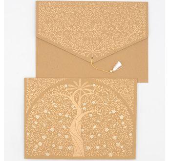 PAPERTREE GAIA Envelope (A5) Cappuccino
