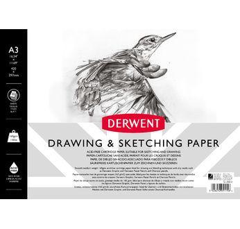 Derwent A3 Sketch Pad Landscape- 165 gsm 30 shts