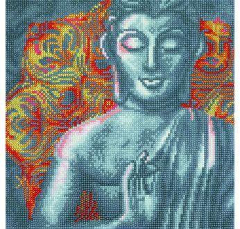 Crystal Art Kit 30x30cm Beautiful Buddha