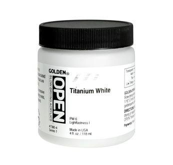 OPEN 119ml Titanium White S1