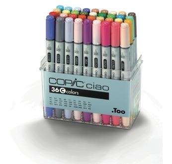Set COPIC CIAO C - 36 couleurs