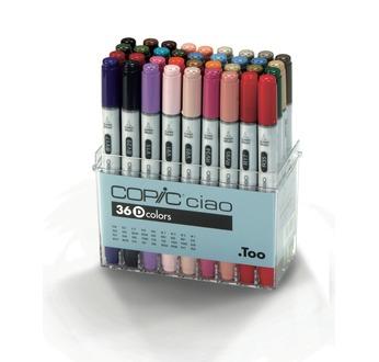 Set COPIC CIAO D - 36 couleurs
