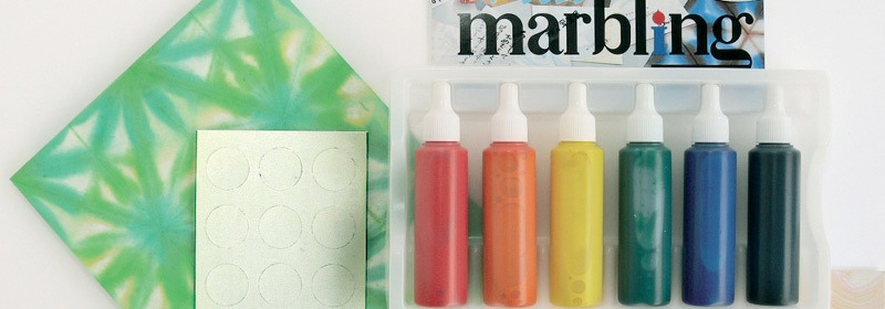 Marbling & Watercolour