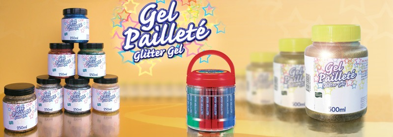 Gel pailleté