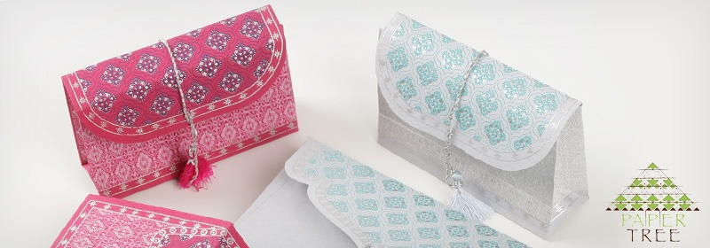Gift wrap pouches