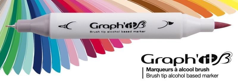 GRAPH'IT Brush Marker