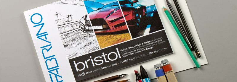 Papier Dessin - Bristol
