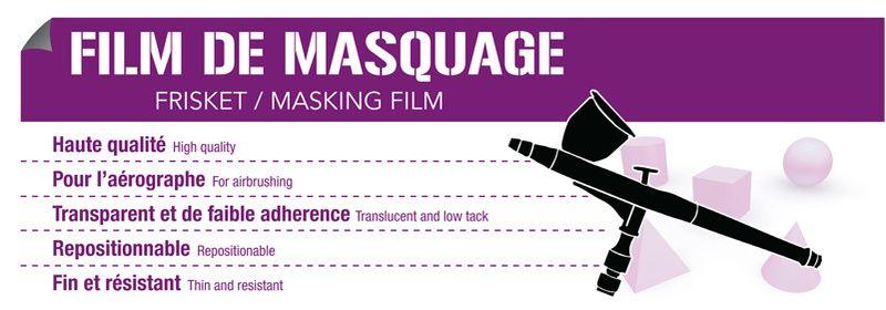 Masking & Frisket Film