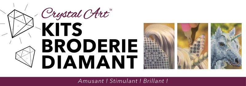 Broderie diamant Crystal Art